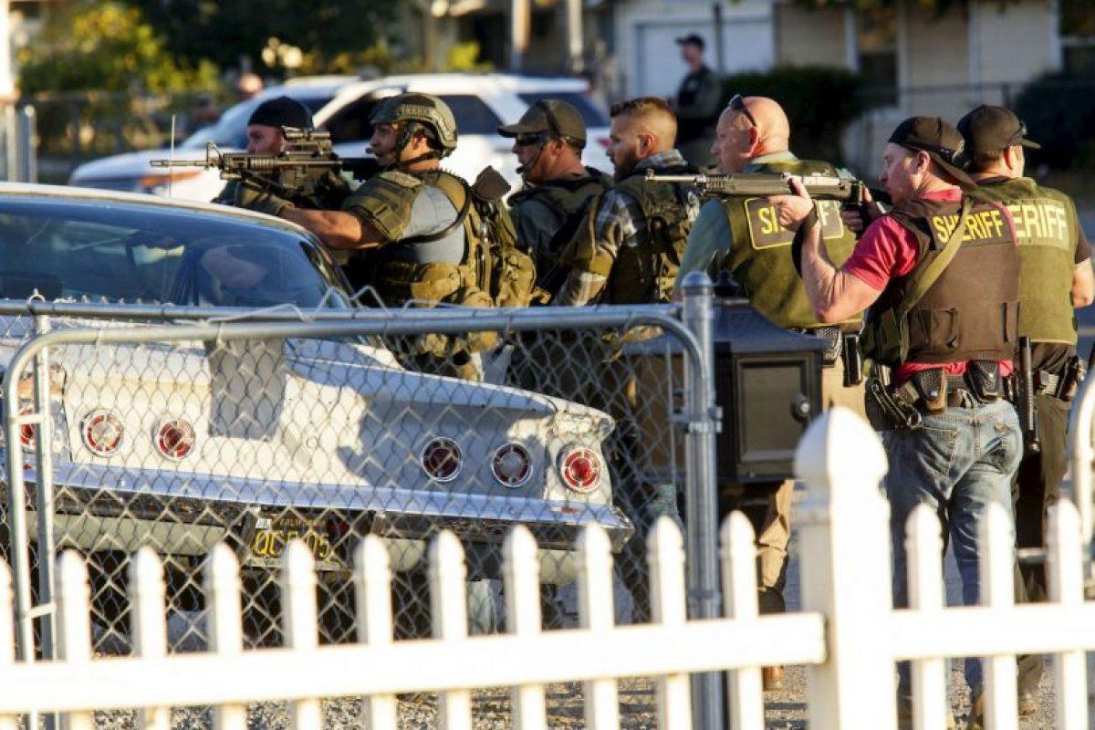 La Policía abatió a los dos atacantes. Foto:AFP. Imagen Por: