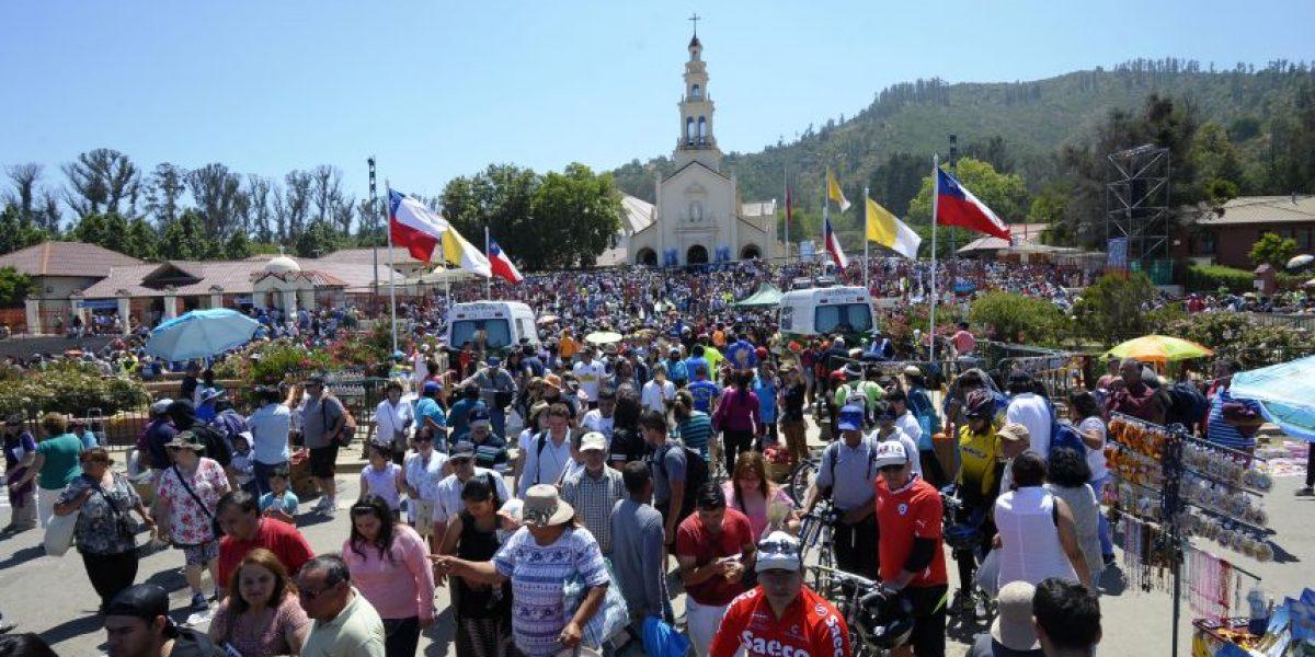 Entregan plan de contingencia por masiva peregrinación a santuario de Lo Vásquez