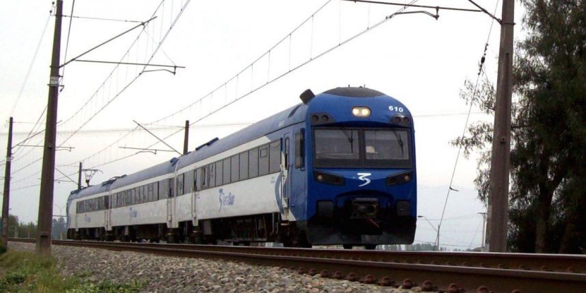 Este viernes se reanuda servicio de trenes a Rancagua y Chillán