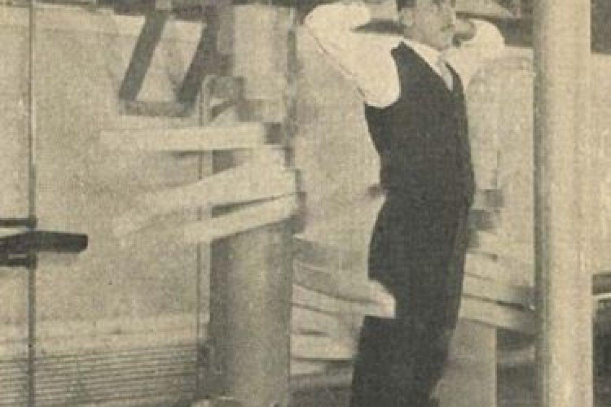 Una curiosa máquina de golpes y masajes en un sanatorio Foto:Reproducción. Imagen Por: