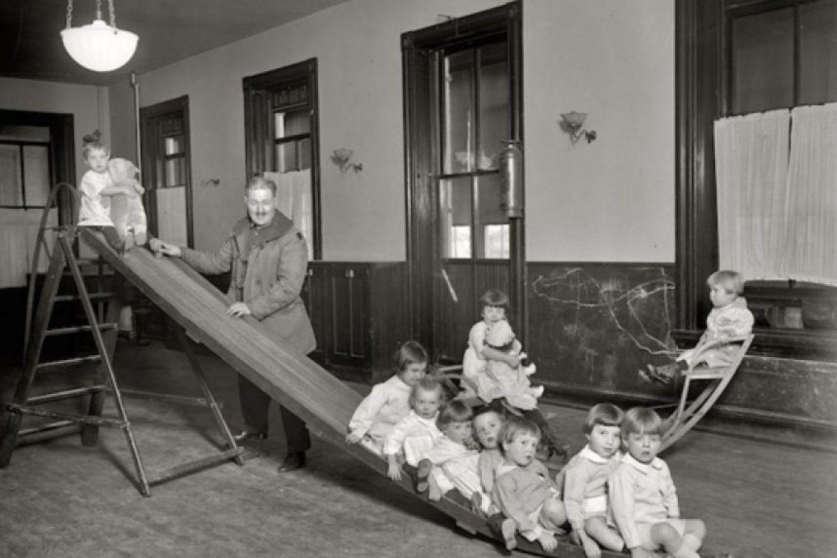Sala de niños en un centro para huérfanos Foto:Reproducción. Imagen Por: