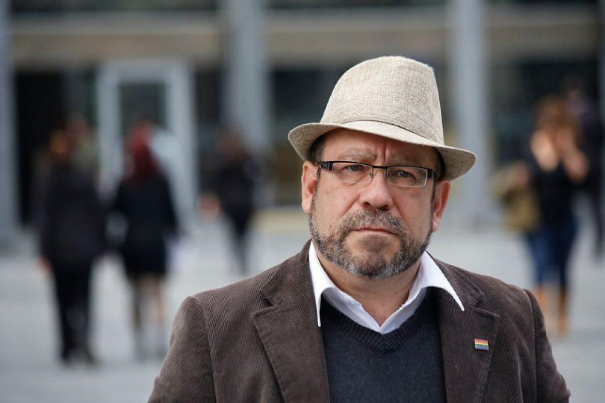 Rolando Jiménez, líder del Movimiento de Liberación Homosexual, Movilh Foto:Agencia Uno. Imagen Por: