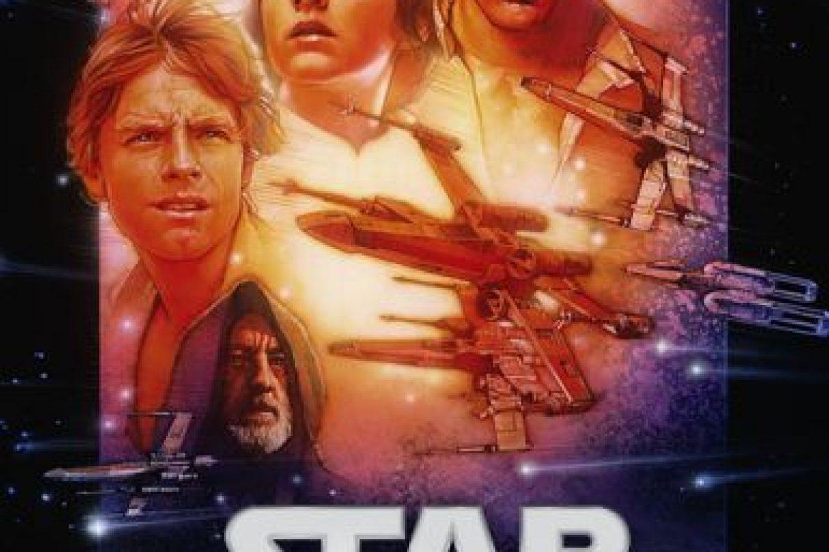 """""""La guerra de las galaxias, una nueva esperanza"""". Ya disponible. Foto:vía Netflix. Imagen Por:"""