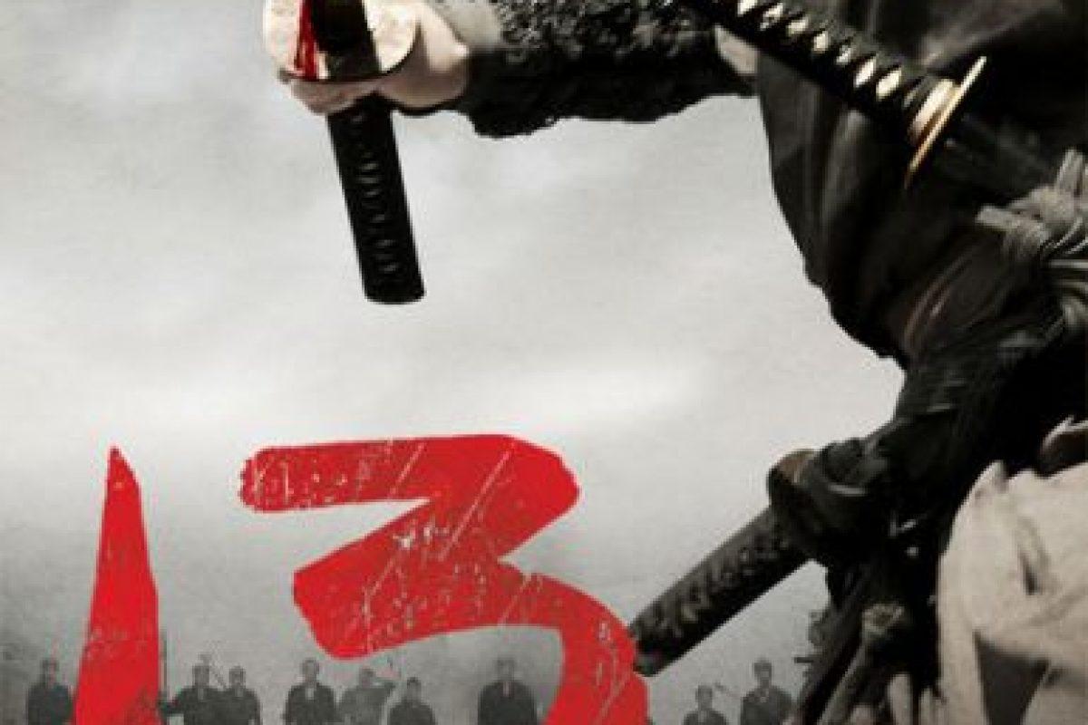 """""""13 Assassins"""". Ya disponible. Foto:vía Netflix. Imagen Por:"""