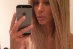 Kim Kardashian posa para la foto. Foto:Getty Images. Imagen Por: