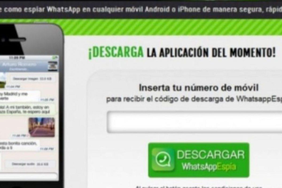 2- WhatsApp Espía. Foto:vía Tumblr.com. Imagen Por: