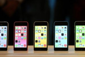 iPhone 5c (2013). Foto: Getty Images. Imagen Por: