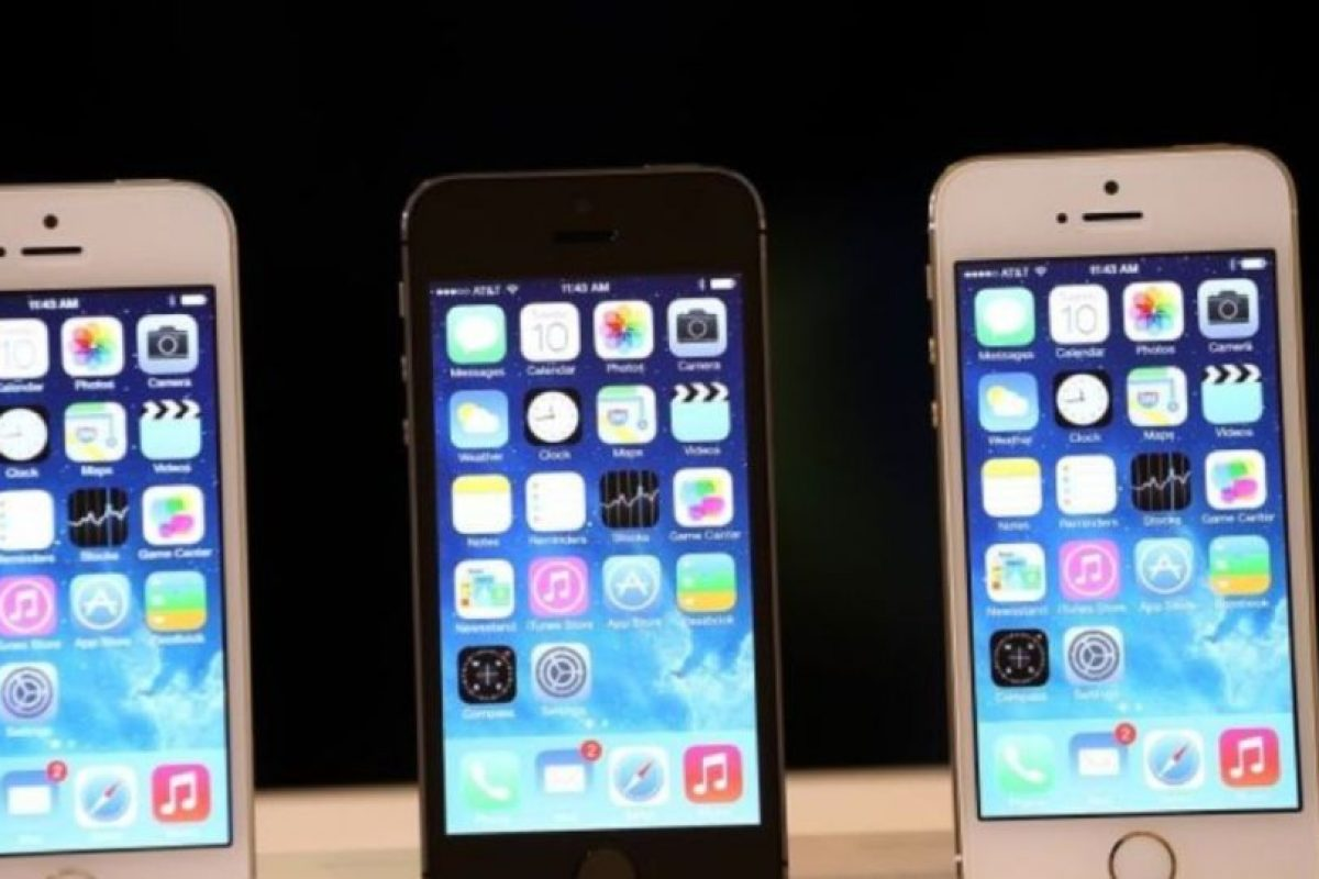 iPhone 5s (2013). Foto: Getty Images. Imagen Por: