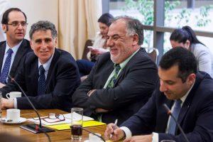 Osvaldo Andrade no quiso extender la Comisión Caval I Foto:Agencia Uno. Imagen Por: