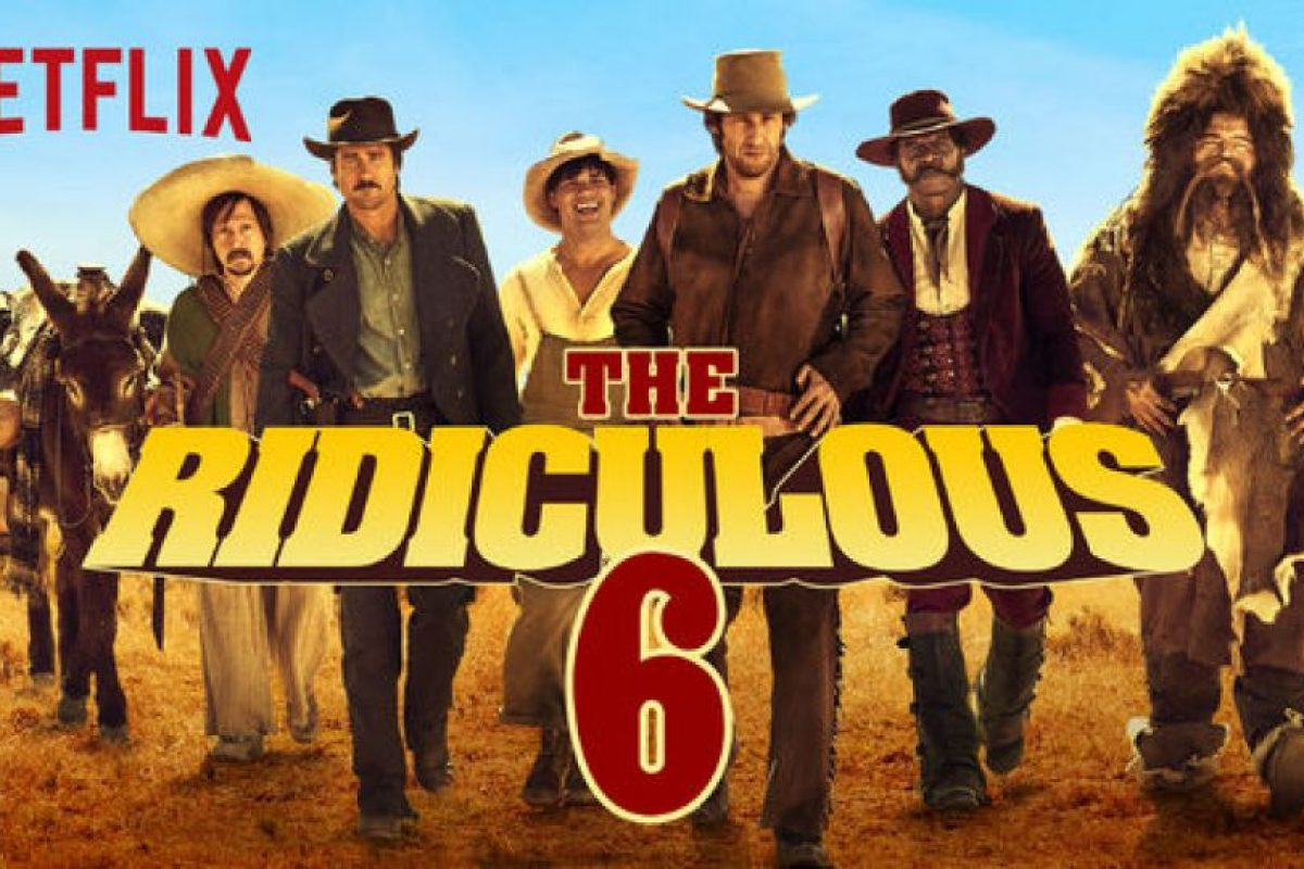 """The Ridiculous 6"". Disponible a partir 11 de diciembre. Foto:vía Netflix. Imagen Por:"