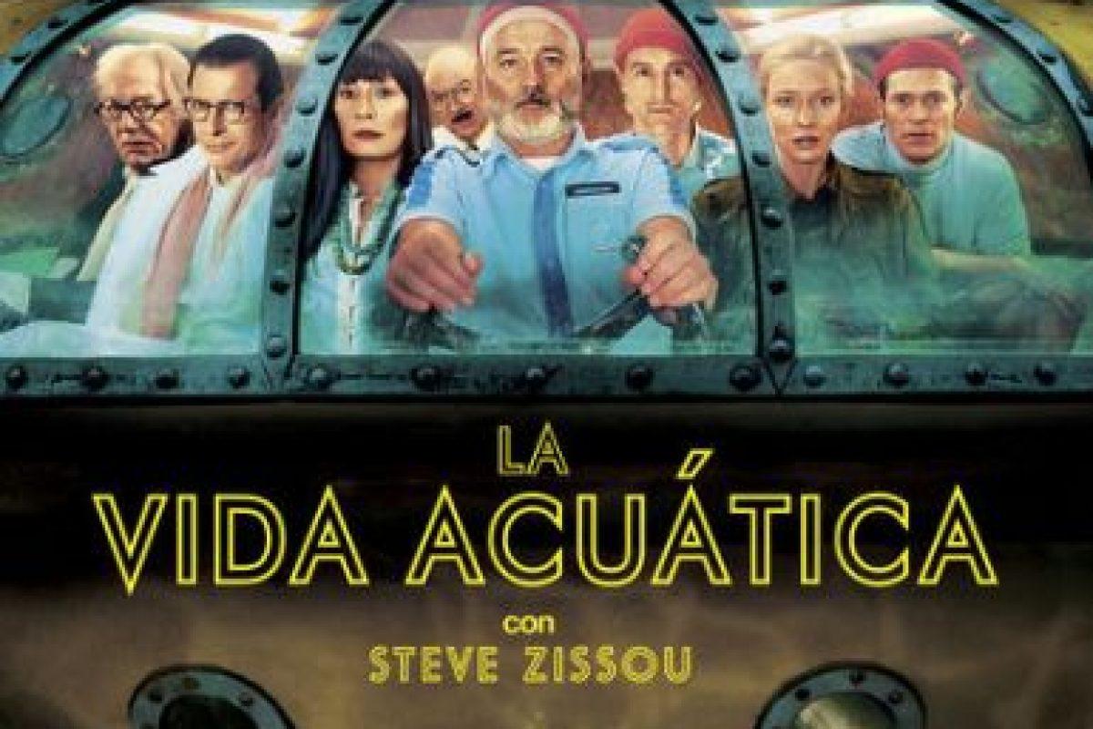 """La vida acuática con Steve Zissou"". Disponible a partir del 9 de diciembre. Foto:vía Netflix. Imagen Por:"
