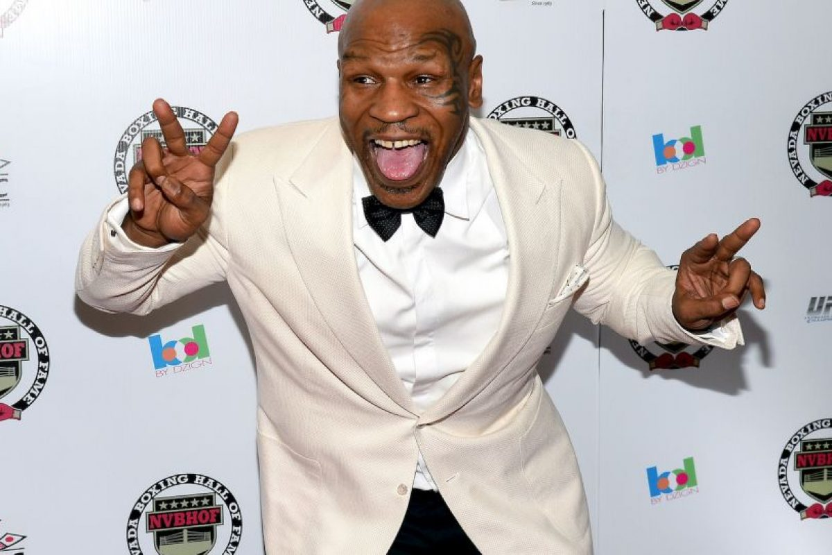 6. Mike Tyson Foto:Getty Images. Imagen Por:
