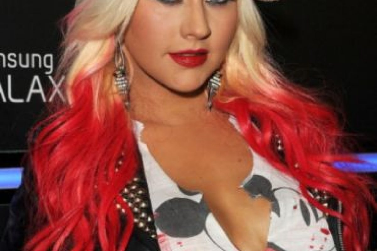 1. Christina Aguilera Foto:Getty Images. Imagen Por:
