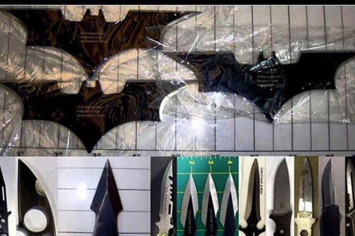 Cuchillos Foto:Vía Instagram.com/tsa. Imagen Por: