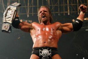 5. Triple H. Pero ese mismo día Randy Orton hizo válida su revancha y reconquistó el título Foto:WWE. Imagen Por: