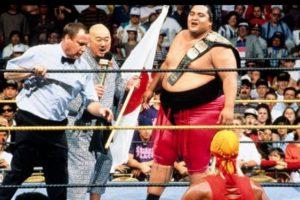 3. Yokozuna. Ganó y perdió el título en Wrestlemania IX en 1993 Foto:WWE. Imagen Por: