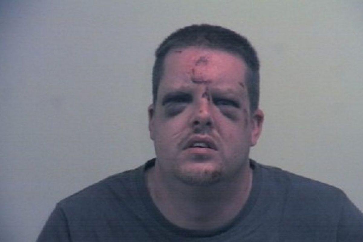 Así quedó el atacante Foto:South Yorkshire Police. Imagen Por: