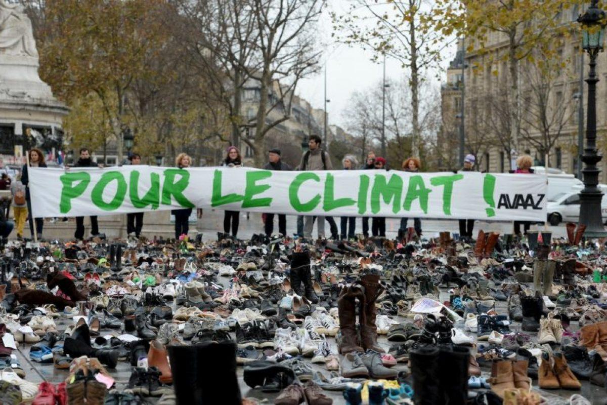 Protestas en París por el cambio climático. Foto:AFP. Imagen Por: