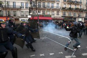 Protestas por el cambio climático en Francia. Foto:AFP. Imagen Por:
