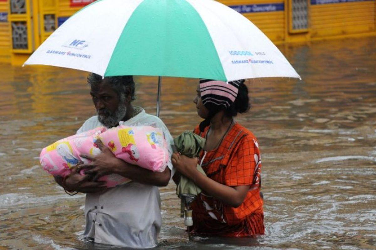 Los niveles del agua son extremos. Foto:AFP. Imagen Por: