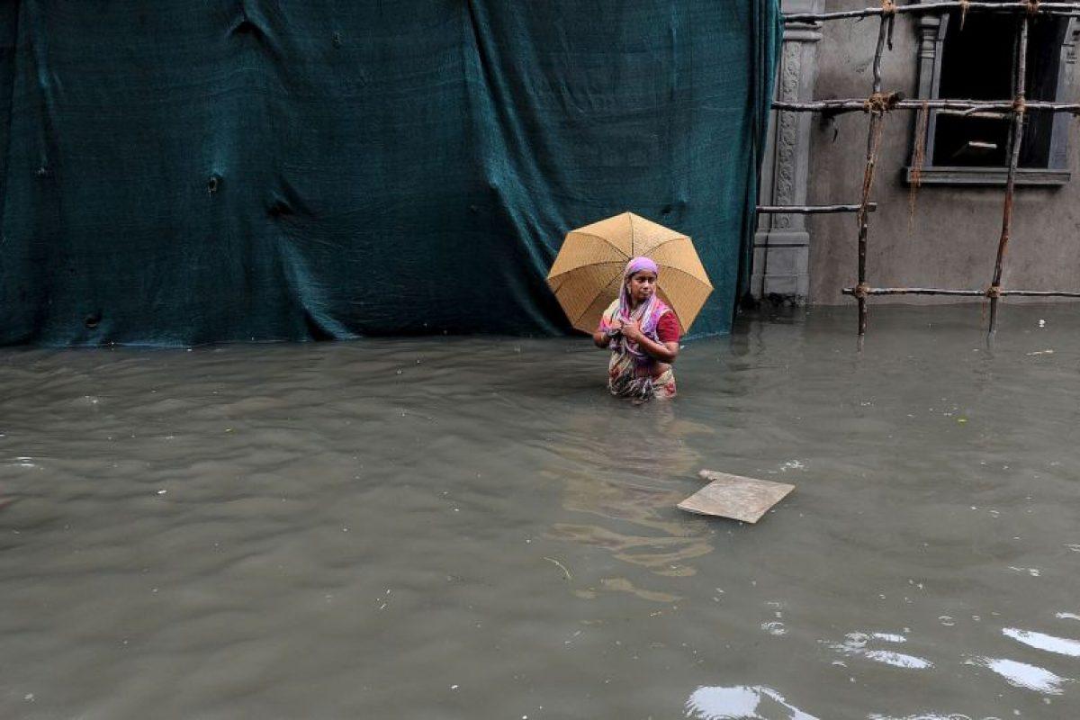 Inundaciones en la India han dejado un saldo de 280 muertos. Foto:AFP. Imagen Por: