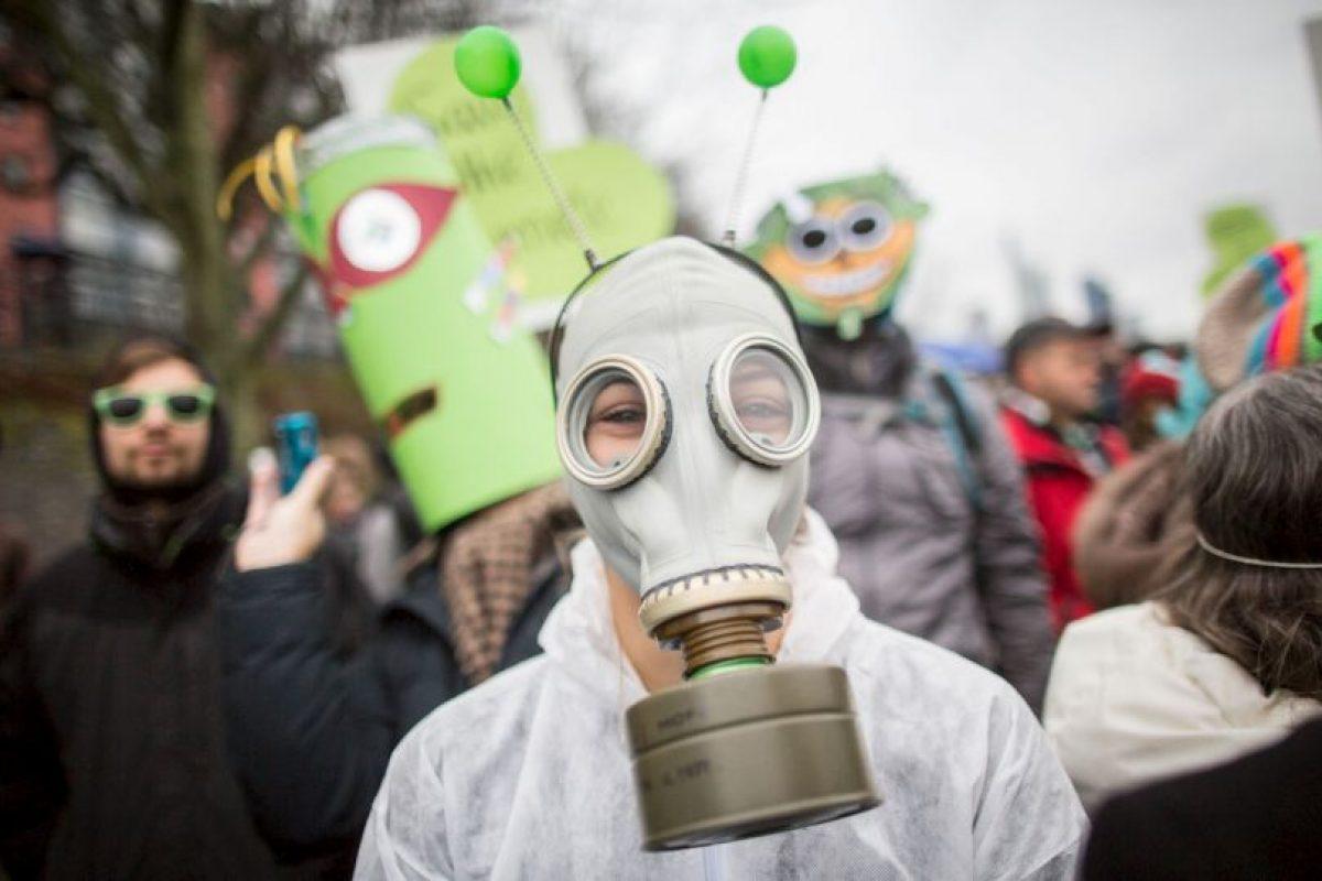 Manifestación por el cambio climático en Alemania. Foto:AFP. Imagen Por: