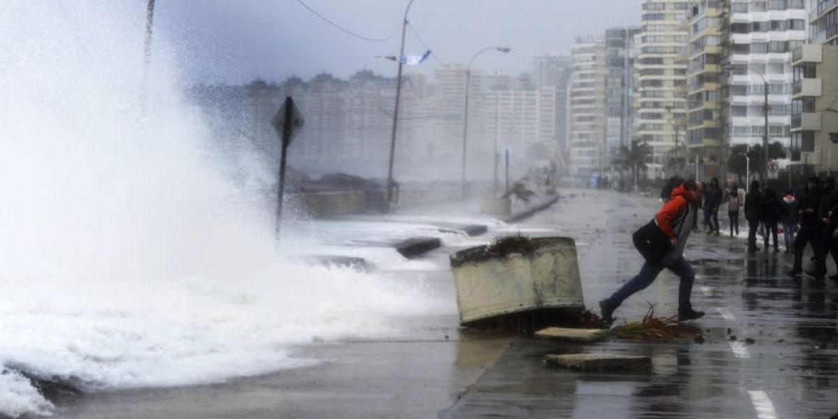 Armada alerta fuertes marejadas en las costas del país el fin de semana largo
