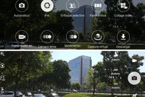 Las diversas opciones para configurar la cámara que nos entrega el Galaxy Note 5. Foto:Publimetro / Víctor Jaque. Imagen Por: