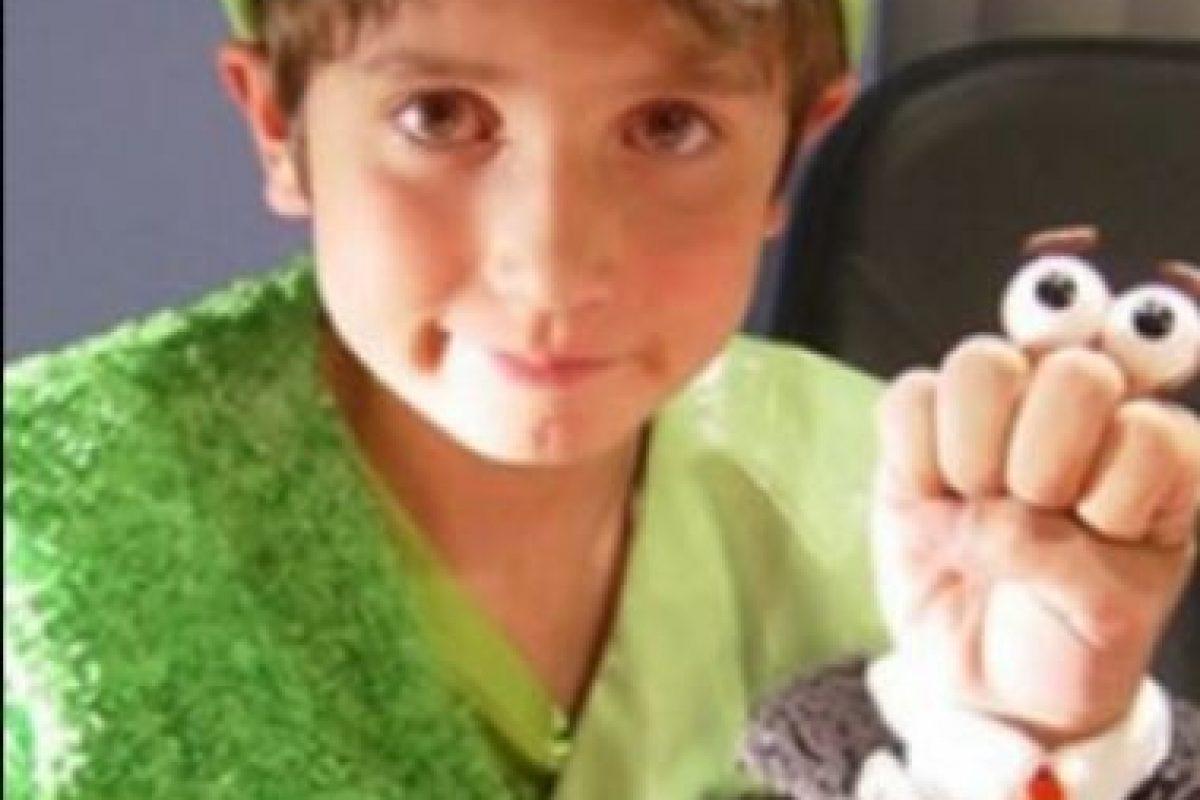 """José Miguel Pérez le dio vida a """"Ludoviquito"""", el tercer hijo de la familia. Foto:vía twitter.com/jmiiguelperez. Imagen Por:"""