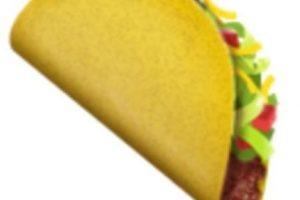 Taco. Foto:vía emojipedia.org. Imagen Por: