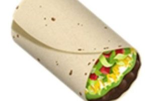 Burrito. Foto:vía emojipedia.org. Imagen Por: