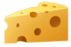 Queso. Foto:vía emojipedia.org. Imagen Por: