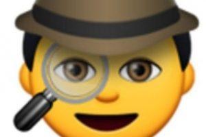 Detective con lupa. Foto:vía emojipedia.org. Imagen Por:
