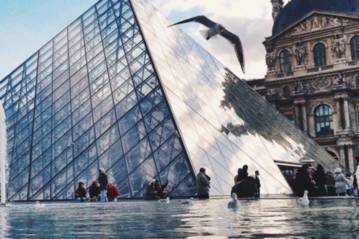 Museo Louvre de París, Francia. Foto:vía instagram.com/sezyilmaz. Imagen Por: