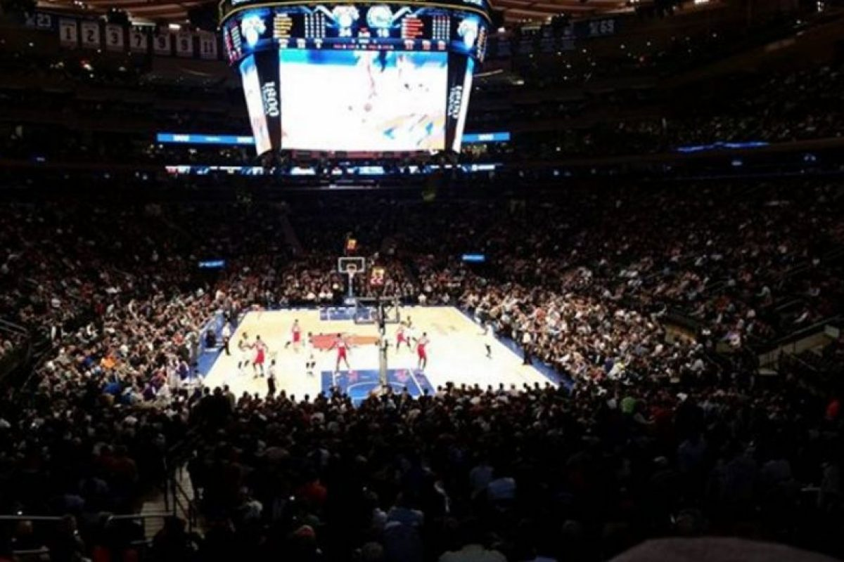 Madison Square Garden en Nueva York, Estados Unidos. Foto: vía instagram.com/peter.murray127. Imagen Por: