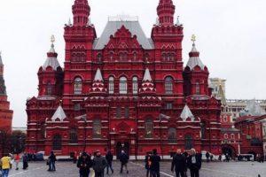 Plaza Roja de Moscú, Rusia. Foto:vía instagram.com/o_snnkv. Imagen Por: