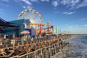 Puerto de Santa Mónica en Los Ángeles, California, Estados Unidos. Foto:vía instagram.com/veebiajakirifemme. Imagen Por: