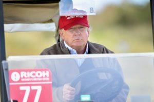 Por otra parte, Ted Cruz y Ben Carson resultaron empatados en el tercer lugar con un 16% cada uno. Foto:Getty Images. Imagen Por: