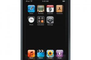 iPod touch (1º generación) Foto:Apple. Imagen Por:
