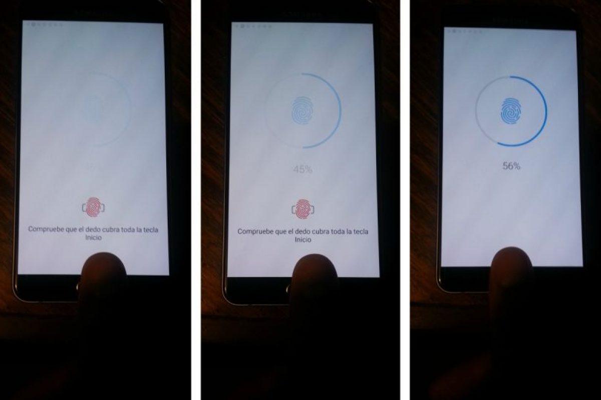 Al igual que el iPhone 6s -y otros equipos de gama alta-, el Galaxy Note 5 cuenta con sistema de seguridad basado en la huella digital. Foto:Publimetro / Víctor Jaque. Imagen Por: