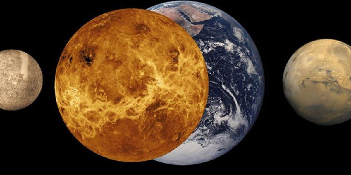 ¡No te lo pierdas! El baile planetario de Marte con Júpiter y Venus en un nuevo video de la Nasa