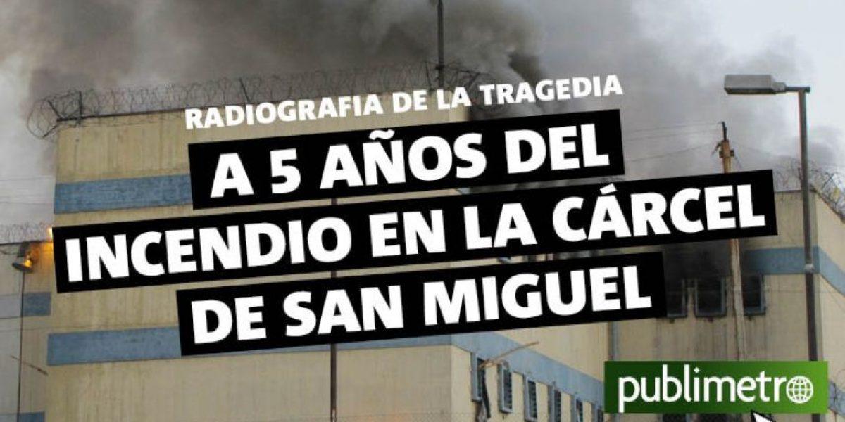 Infografía: a 5 años del incendio en la cárcel de San Miguel
