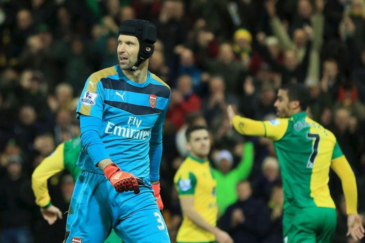 Se trata de Petr Cech Foto:Getty Images. Imagen Por: