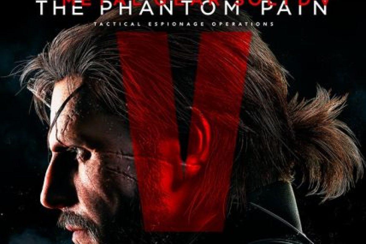 """Mejor banda sonora y mejor juego de acción y aventura: """"Metal Gear Solid V: The Phantom Pain"""". Foto:Kojima Productions. Imagen Por:"""