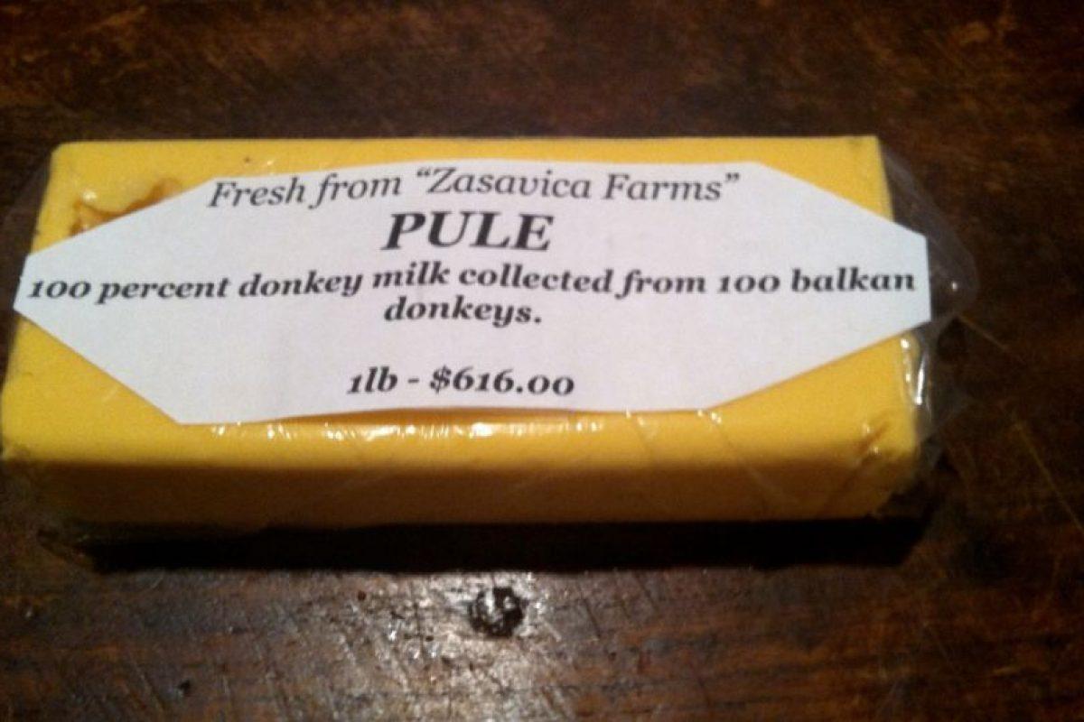 Se necesitan más de 15 burros para producir un litro de leche con el que se elabora. Por eso se debe pagar mil dólares por kilogramo Foto:Vía dingdongsandpolyester.wordpress.com. Imagen Por: