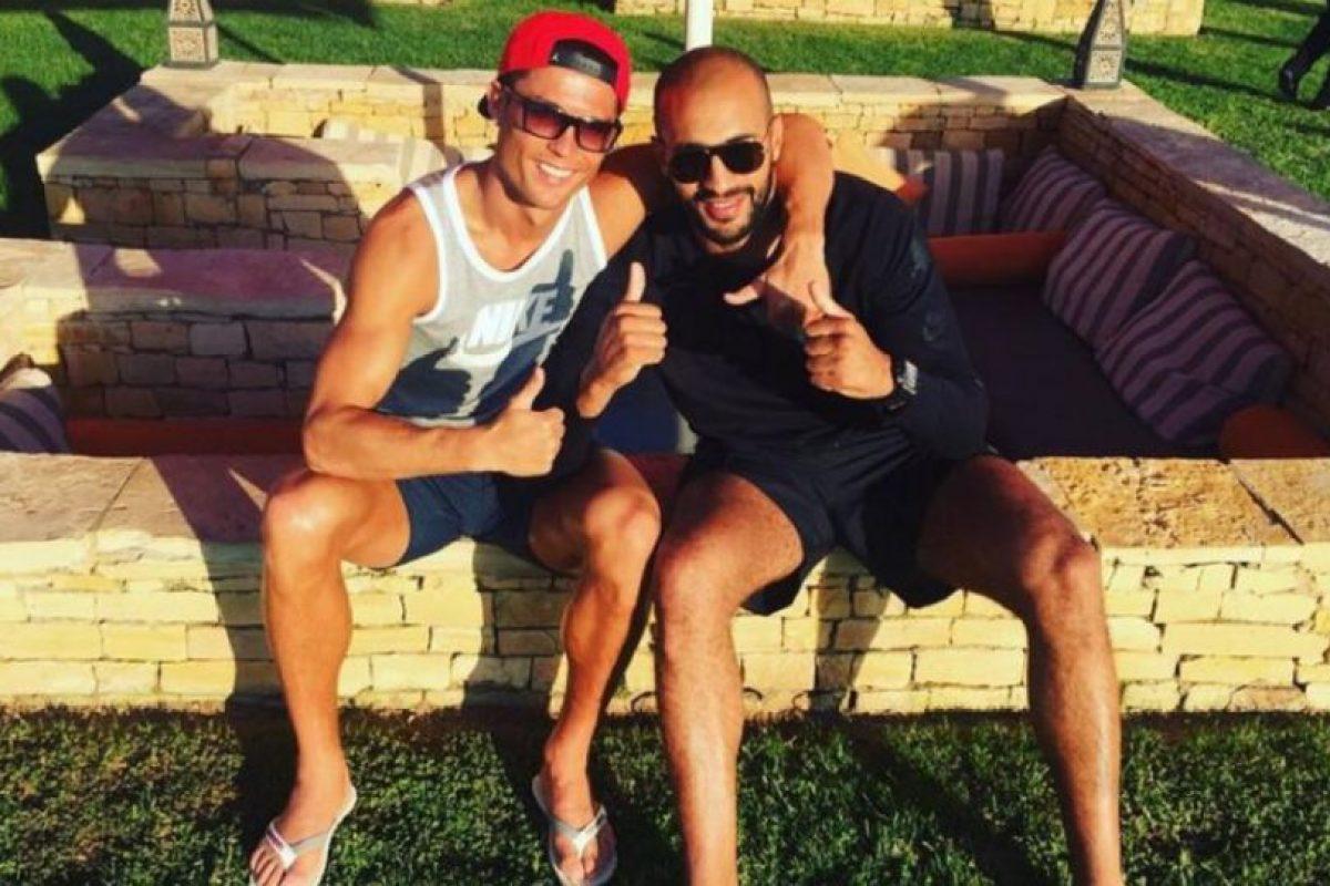 Aseguran que Cristiano y Badr Hari son más que amigos Foto:Vía instagram.com/badrhari. Imagen Por: