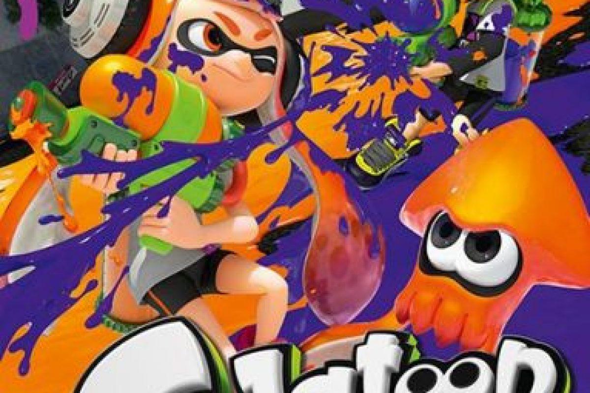 "Mejor juego multijugador: ""Splatoon"" Foto:Nintendo Entertainment Analysis and Development. Imagen Por:"