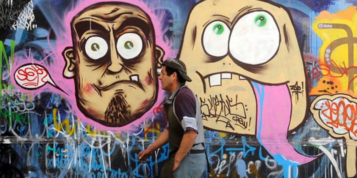Anuncian proyecto de ley que busca sancionar grafitis no autorizados