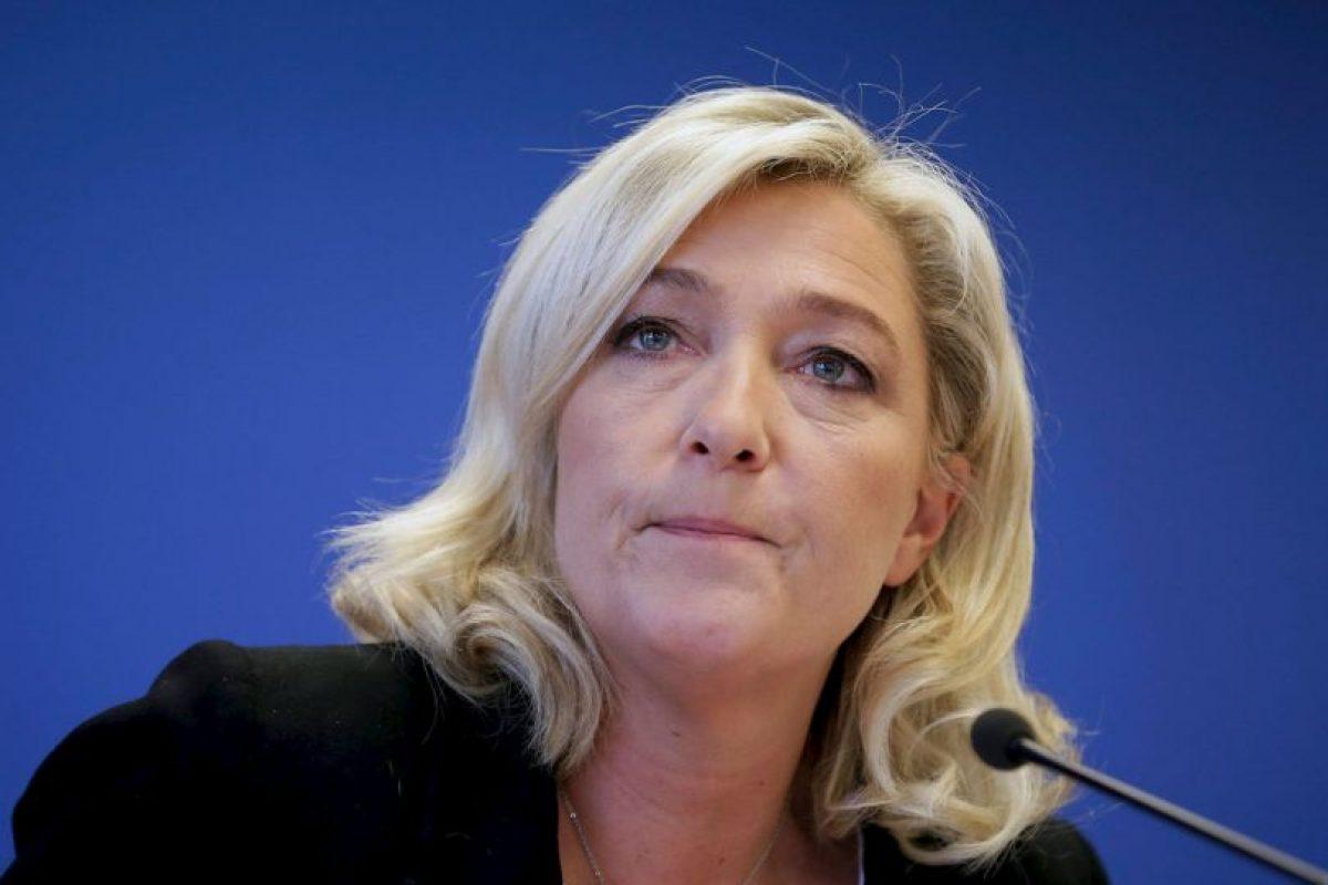 Es hija del anterior presidente del Frente Nacional, Jean-Marie Le Pen. Foto:Wikicommons. Imagen Por: