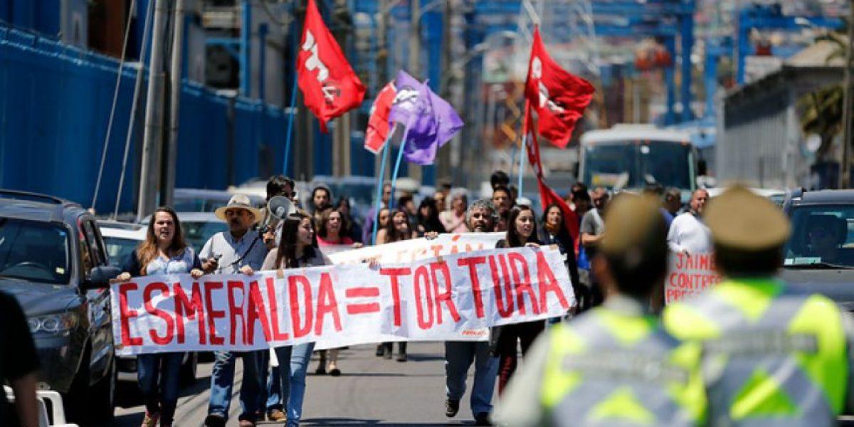 Valparaíso: Manifestantes